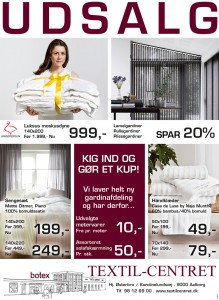 TextilCentret_Udsalg